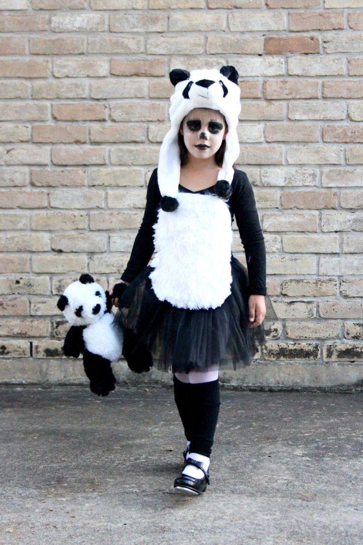 Disfraz Oso Panda niña | criandoando.com