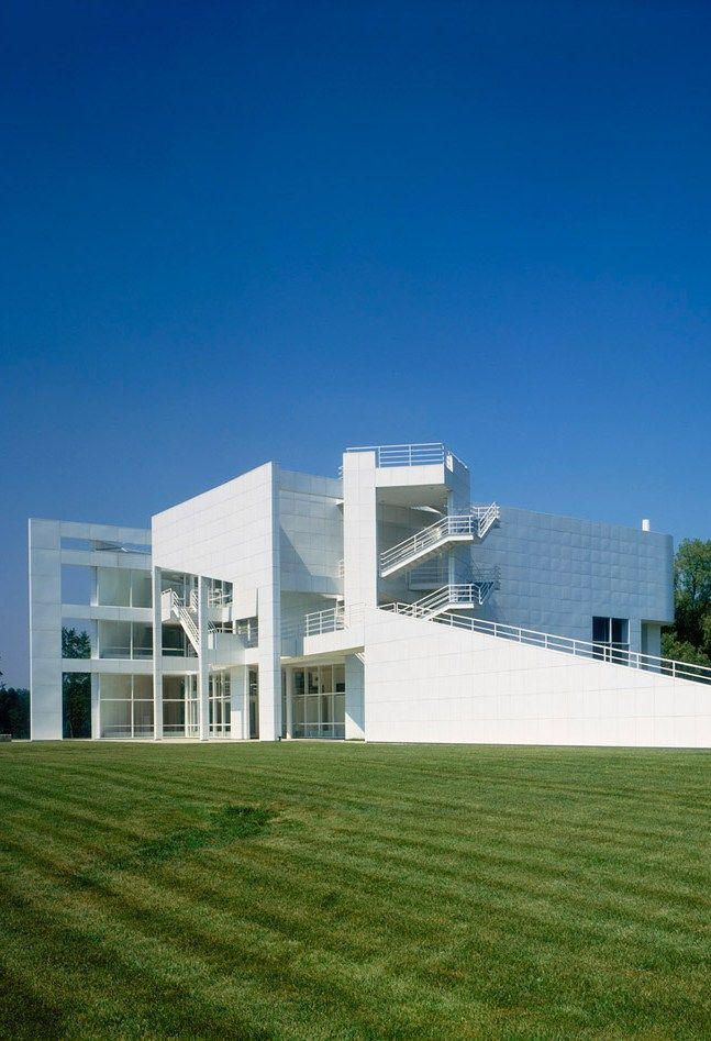 The Atheneum, New Harmony, Indiana by Richard Meier Architect :: 1975-1979