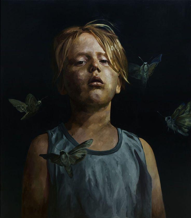 The Woods (Insomnia), 2013, oil on canvas, 170x150cm / Markus Akesson / Markus Åkesson