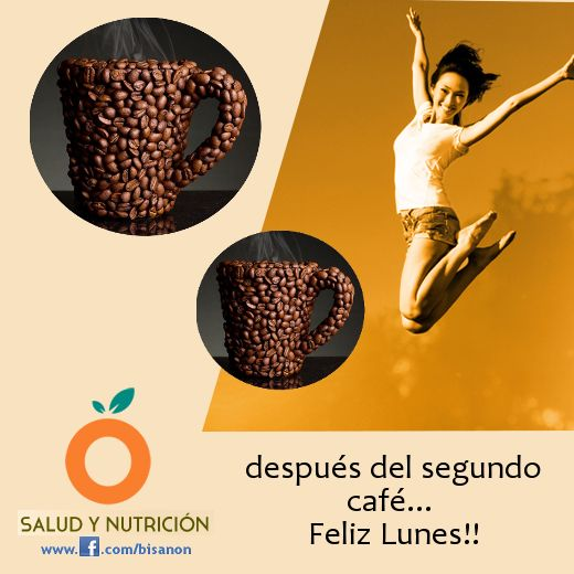 A por el segundo café!! #energia #energy #pilascargadas  #bisanon #vitalidad