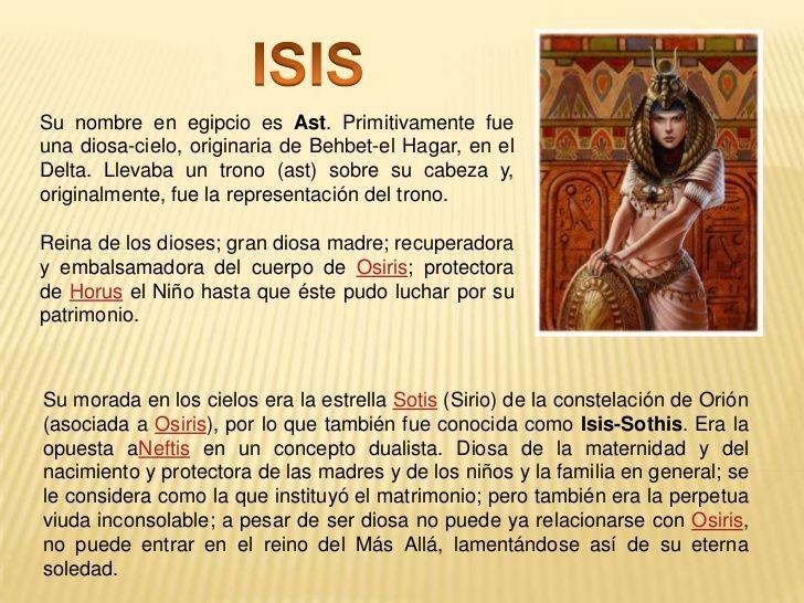 isis diosa egipcia significado - Buscar con Google