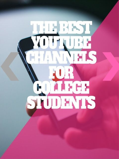 The Best Youtube Channels for College Students Crash Course will help you understand the many courses you'll be taking in college. They've made various videos on World History, Biology, Literature, Ecology, Chemistry, Psychology, and US History and more. . Each video is about 10 mins to