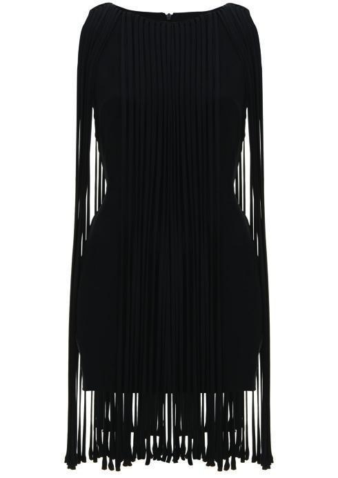 Fringe Dress, $185: Kate Moss for Topshop | Boca Raton Magazine