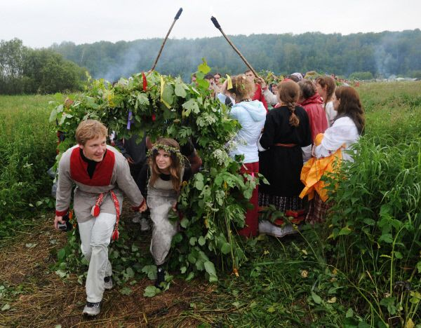 Kupala Night - Every year Russia celebrates the oldest Slavic holiday, the Kupala Night. This celebration has its roots in paganism and relates to the summer solstice.