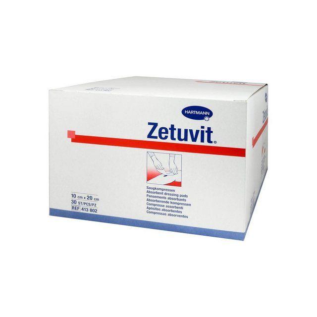 Zetuvit Saugkompresse Unsteril 10x20 Cm 30 St Wolle Kaufen