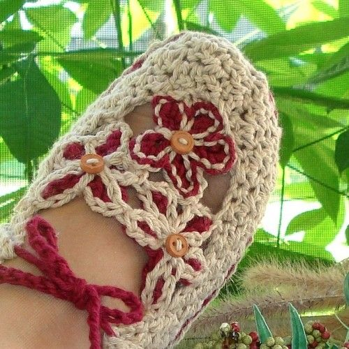 Slippers Crochet Pattern Adult Garden Party Loafers PDF 14