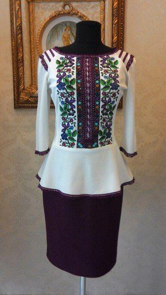 af8f54bed6cc7a Вишите плаття прямий крій | оздоблення одягу.взуття....... | Western  dresses, Dress making и Polish embroidery