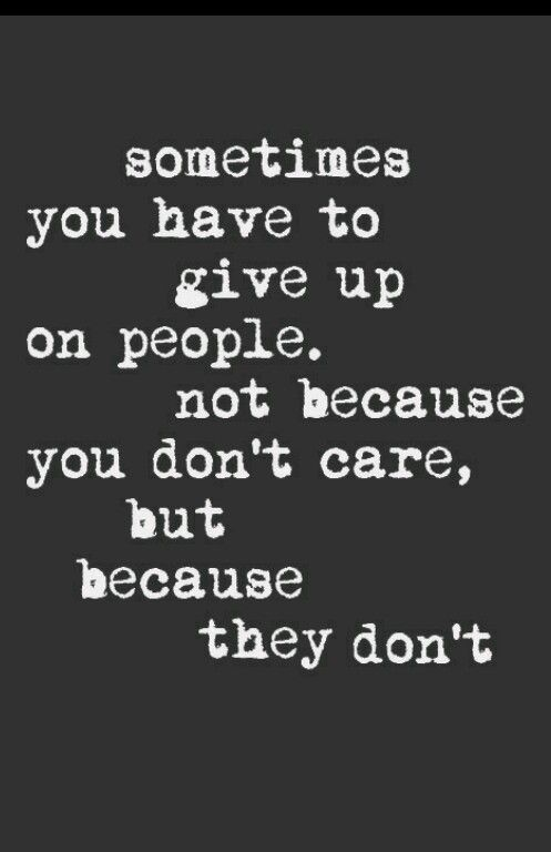 quote, give up, and people image