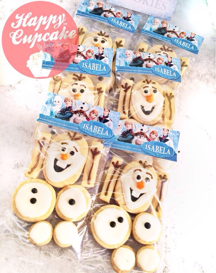 Frozen cookies