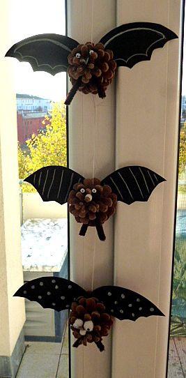 Gespenster- und Geisterschloss fürs Fenster - Halloween-basteln - Meine Enkel und ich
