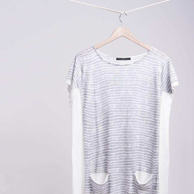 The Havana Knit Dress | soft stripes | #nikelandsole #designedinmelbourne #knitwear #stripes