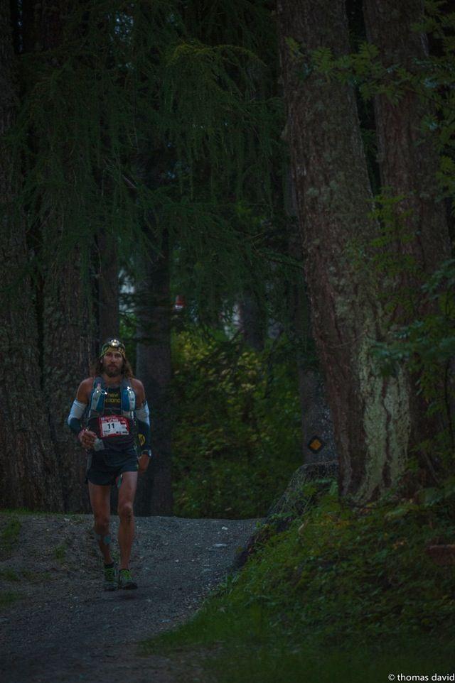 Anton Krupicka  at the Ultra Trail Mont Blanc (UTMB)