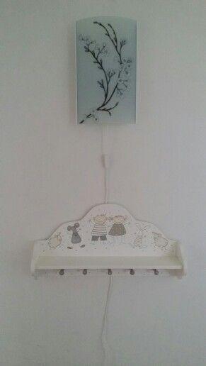 Hallen med nya lampan