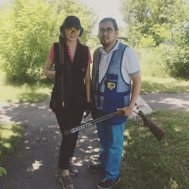🚨🚨🚨 Что такое стендовая стрельба? Спорт, тренировка, развитие навыков стрельбы и лечебный курс в межсезонье.  Что такое #ОХОТНИКИКЗ? Интернет сообщество объединившее тысячи людей по всему Казахстану!  Участники сообщества #ОХОТНИКИКЗ @lakpayeva и @daniyar_s на стрельбище Атлант.