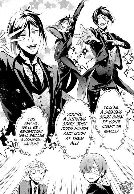 Black butler Sebastian dance.