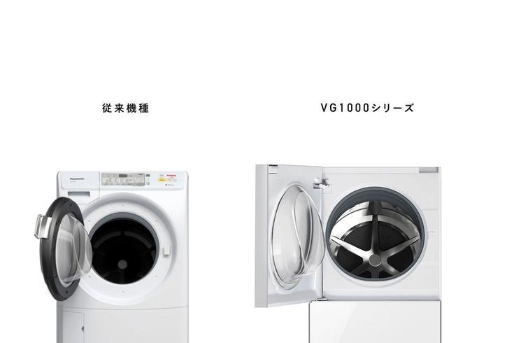 Front loader washing machine [Panasonic Cuble NA-VG1000 series] | 历届获奖作品 | Good Design Award
