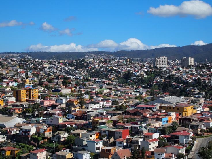 Valparaiso and Surroundings: the colorful hills of Valparaiso, Chile. Photo by Patricio Huidobro. #travel #Chile #Valparaiso #nature #landscape