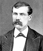 Vigil Earp Was ambushed & shot 3 times but survived. He& brother Wyatt were lawmen