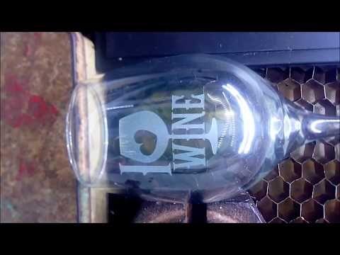 Grabado de Copa Vino - YouTube