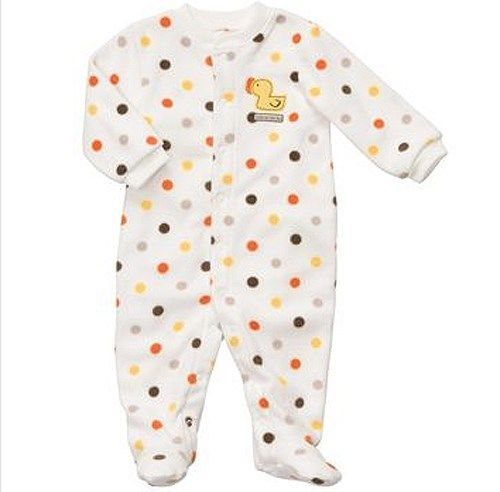 Carters Duck Pajama Blanket Sleeper Unisex Boy Girl Newborn 3 6 Baby SHOWER GIFT #Carters #OnePiece