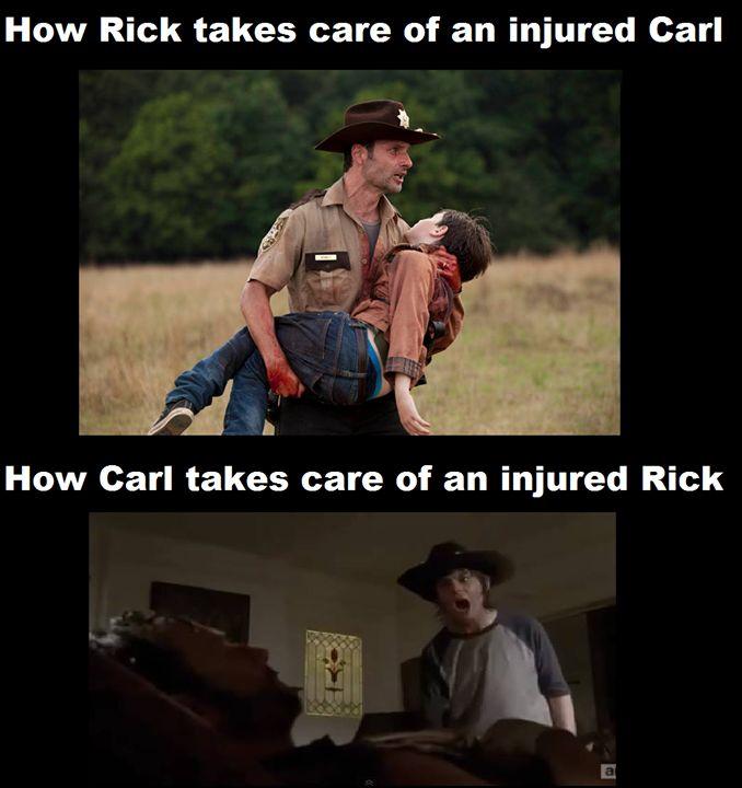 2378ef1149664130c6bacf82dac9d4d5 walking dead memes the walking dead best 25 rick and carl meme ideas on pinterest rick carl memes,Carl Rick Meme