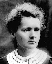 Marie Curie, winner of 2 Nobel prizes, & responsible for inventing x-rays.