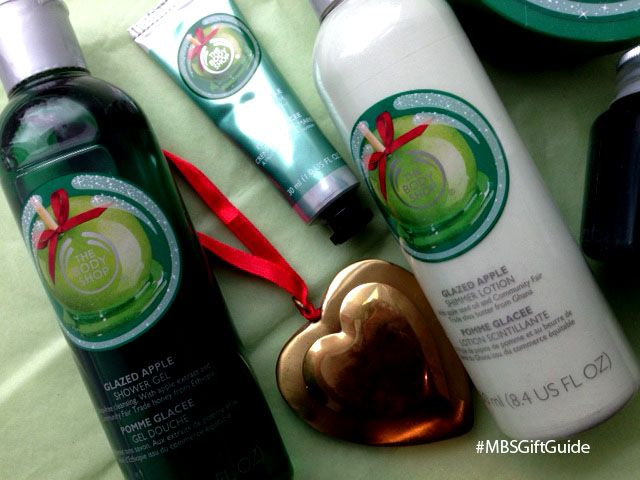 WIN 3 products from The Body Shop Glazed Apple Holiday Collection on the blog now!