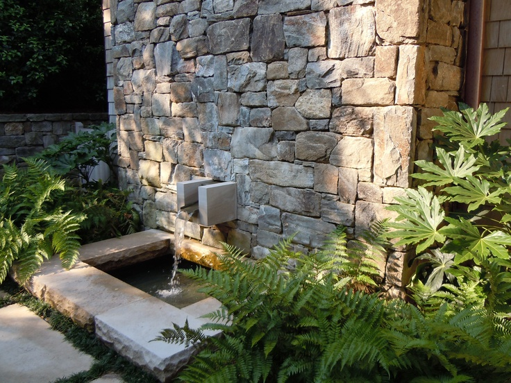 138 best outdoor stone landscaping ideas images on pinterest for Courtyard stone landscape