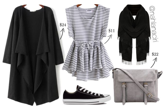 Today's outfit is casually classy using this striped top which go for both classy and casual styles, you can match it to a flat sandals or keep it sporty with converse for a back to school look, You will need…