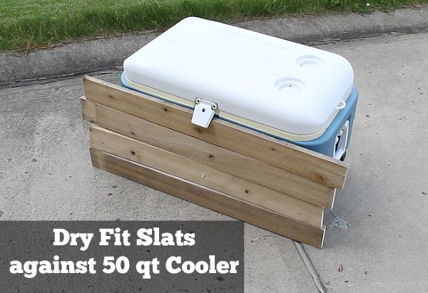 How to build a rustic cooler from FREE pallet wood: perhaps ...
