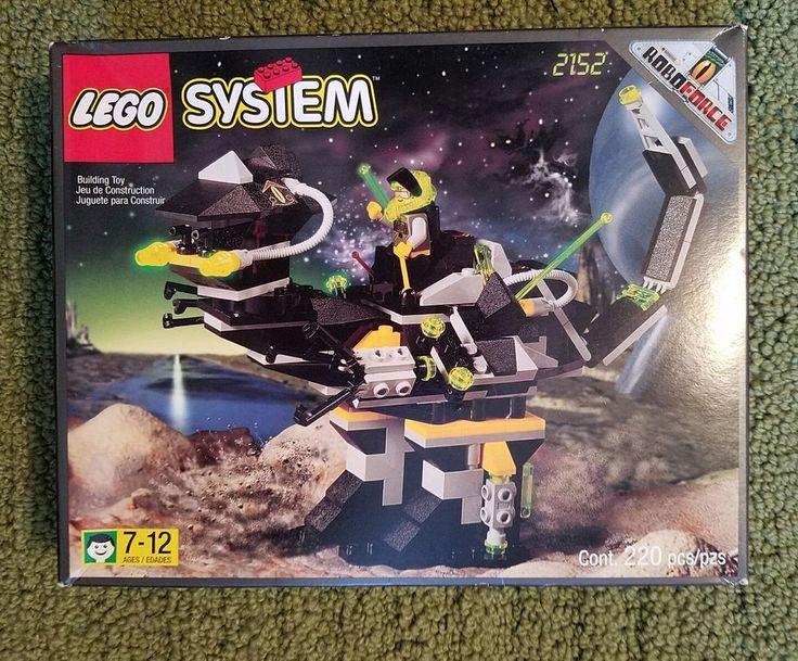 Vtg Robo Force Lego System 2152 Robo Raptor New Mint in Box Rare  | Toys & Hobbies, Building Toys, LEGO | eBay!