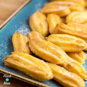 Who would have thought that you could eat Churros whilst on Slimming World? These are yummy and only 1 syn each - just try to resist eating them all!