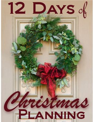 12 Days of Christmas {Planning}