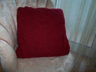 Realiza Tu mesmo: Fronha de almofada de camisola