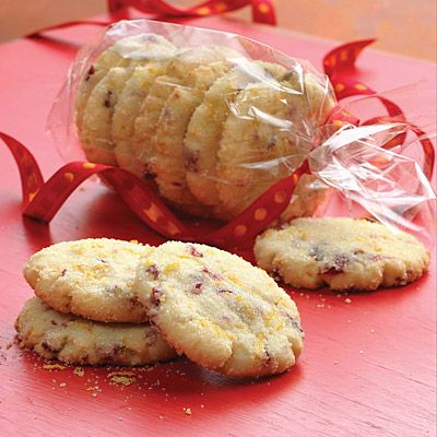 Cranberry Orange Cookies    These crunchy sweet cranberry orange cookies are sprinkled with orange sugar for extra holiday sparkle!