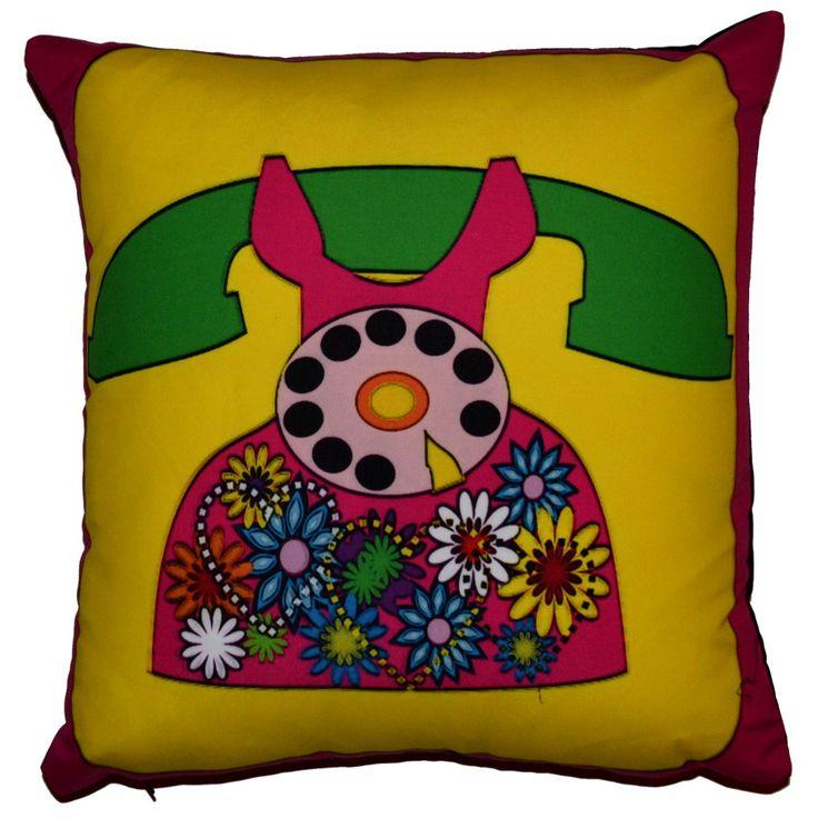 Designer decorative #Retro #pillow № gd308
