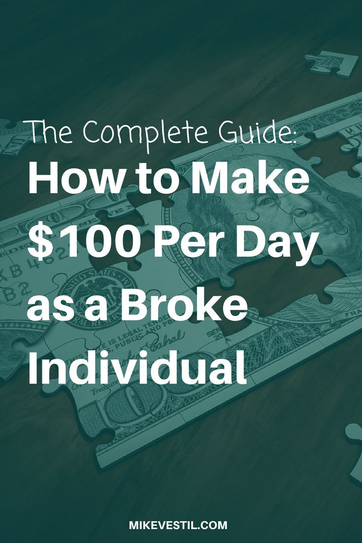 How to Make $100 Per Day as a Broke Individual – Best Money Tips {Group Board}