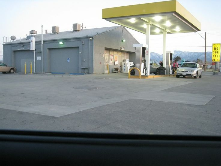 gas station - Where they shot terminator. 37221 90th Street East, Littlerock, CA 93543