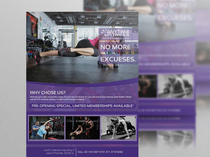29 best Business Cards for Personal Trainers images on Pinterest - Gym Brochure Templates