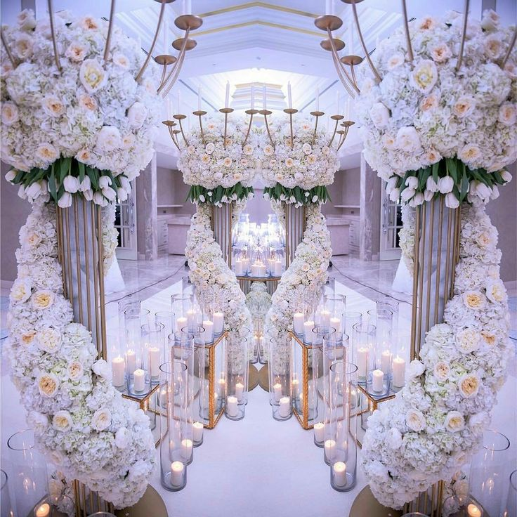flower power entrance decor from carousels petals design by carousel_weddings_events luxury weddingrustic