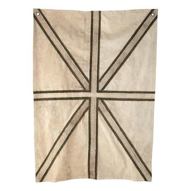 Bandiera Union Jack vintage