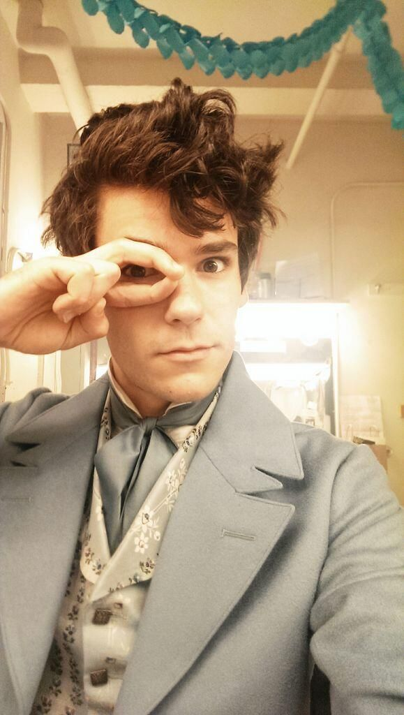 Chris McCarrell going on as Marius in Les Mis on Broadway.<<< HIS MARIUS IS LITERALLY THE MOST ACCURATE MARIUS EVER