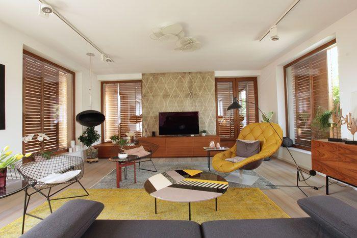 Cluj Napoca apartment, retro-contemporary, eclectic