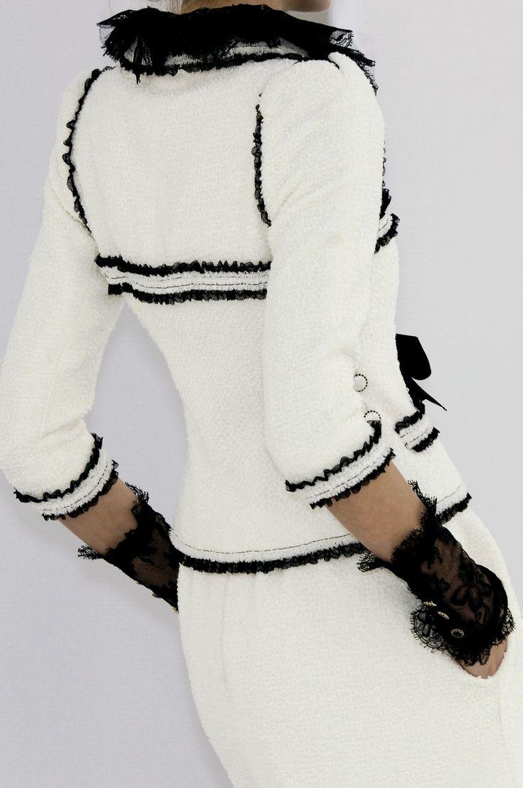 #Chanel #Black & White #Details
