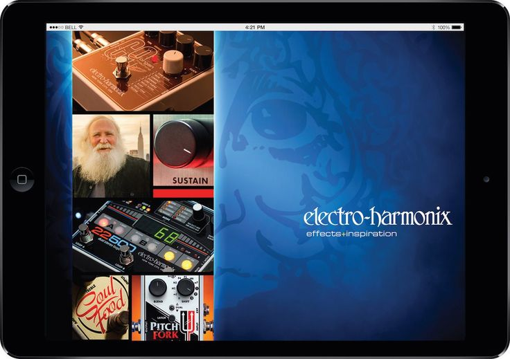Electro Harmonix launched a new mobile app for OSX and Android | Gearjunkies.com