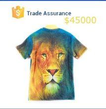 Cheap Custom Men's Short Sleeve T-Shirts 3D Animal Printing Men's Clothing  best buy follow this link http://shopingayo.space