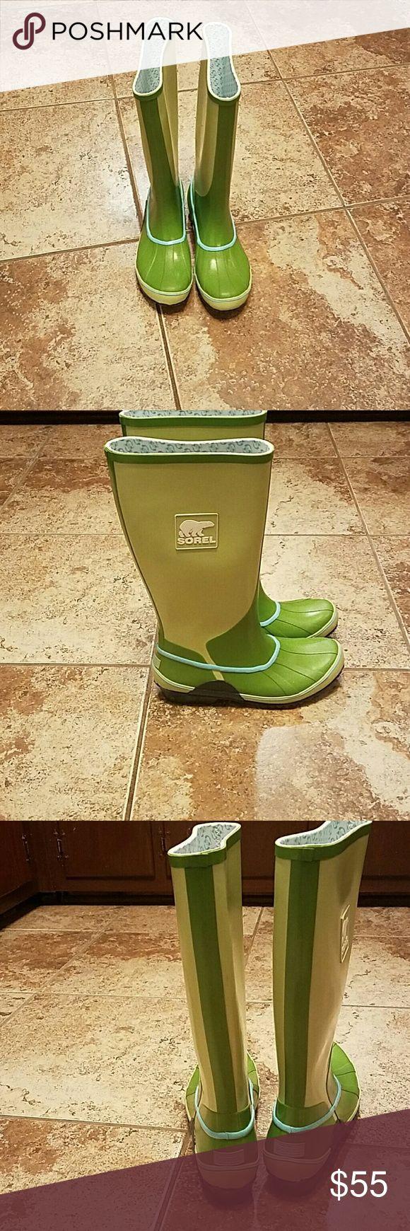 SOREL rain boots New SOREL rainboots Sorel Shoes Winter & Rain Boots
