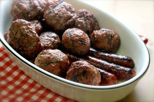 Grilled Meatballs | APPETIZERS | Pinterest