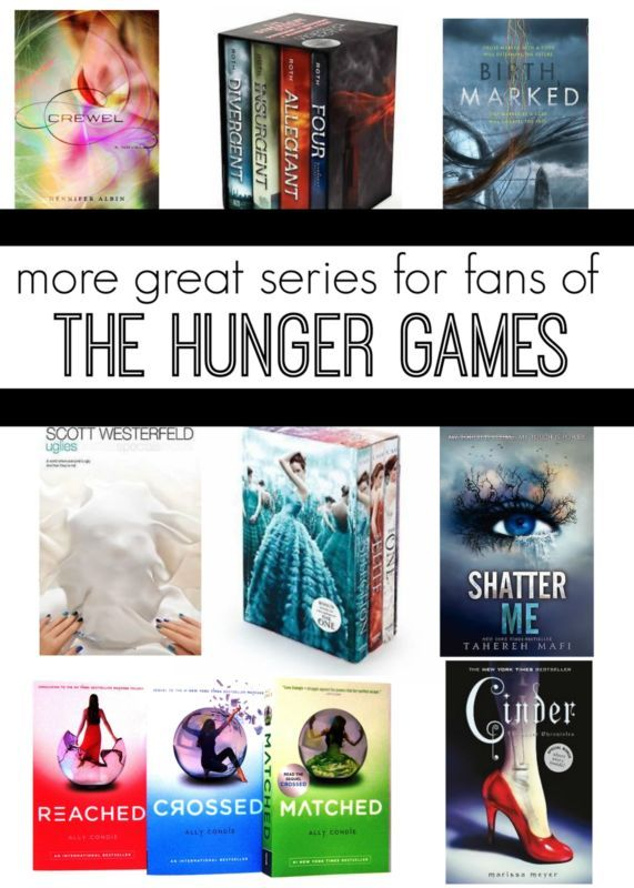 Other great book series to read if you loved the Hunger Games!