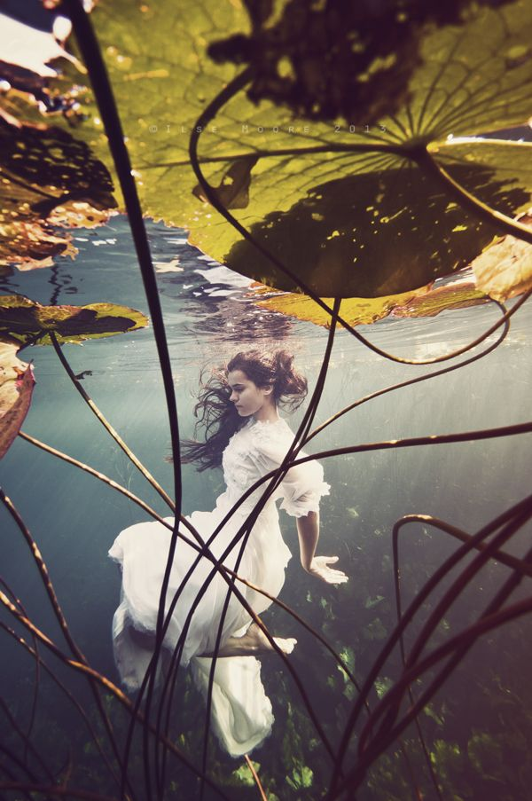 Fantasy | Magic | Fairytale | Surreal | Myths | Legends | Stories | Dreams | Adventures | Underwater Photography | Fishpond | by Ilse Moore